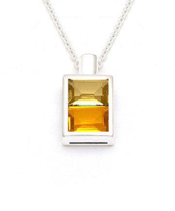 Sunlight Bottle – Silver Pendant PBL04