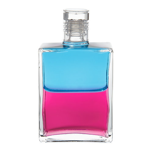 Bottle #45 Breath of Love - Turquoise/Magenta