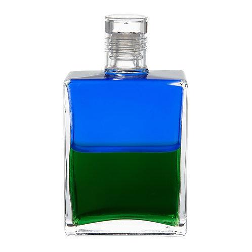 Bottle #03 Heart Bottle, Atlantean Bottle - Blue/Green