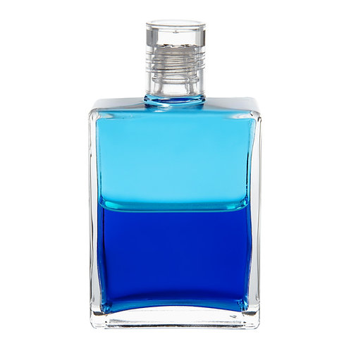 Bottle #112 Archangel Israfel - Turquoise/Mid Tone Royal Blue