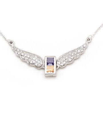925Silver Archangel Sandalphon Wings Pendant MFN0005-98
