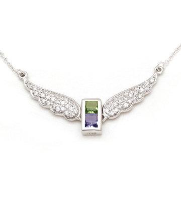 925Silver Archangel Ratziel Wings Pendant MFN0005-106