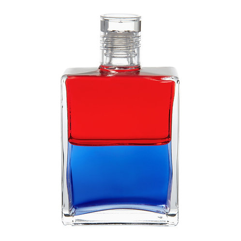 Bottle #29 Get Up and Go - Red/Blue