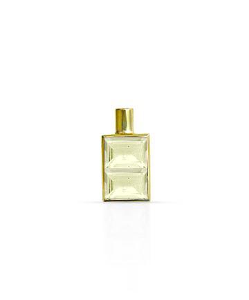 Gold Pendant, Lemon Topaz MC-51