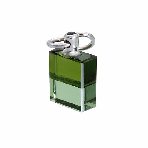 IRIS #113 Archangel Cassiel - Emerald Green/Mid Tone Olive