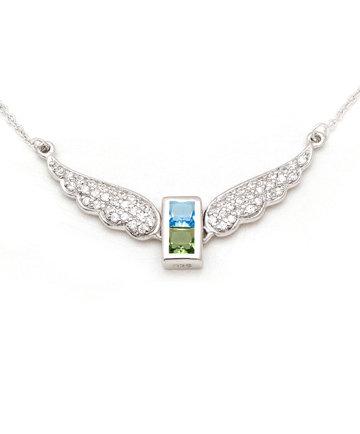 925Silver Archangel Jophiel WingsPendant MFN0005-101