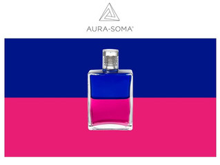 Vol2 - Mike's Further Thoughts              Aura-Soma New bottle / Queen Mab  B116 - Royal Blue / Ma