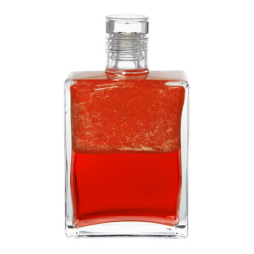 Bottle #105 Archangel Azreal - Iridescent Coral/Coral