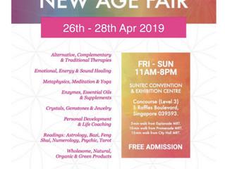 New Age Fair 2019 April 26-28th (Fri-Sun)April - Aura-Soma at Suntec Convention Centre 3F free admis