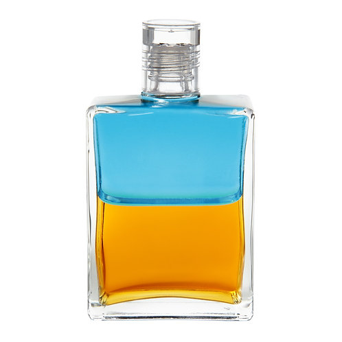 Bottle #83 Open Sesame - Turquoise/Gold