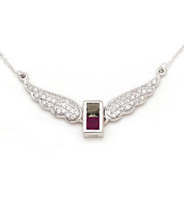 925Silver Archangel Samael WingsPendant MFN0005-102