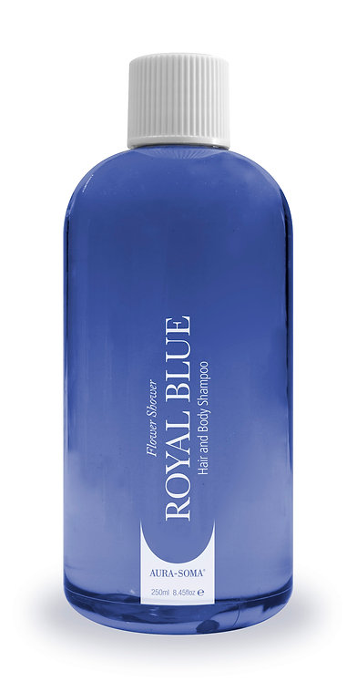 Flower Shower Hair and Body Shampoo - Royal Blue