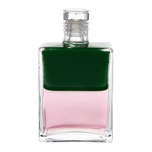 Bottle #21 New Beginning for Love - Green/Pink