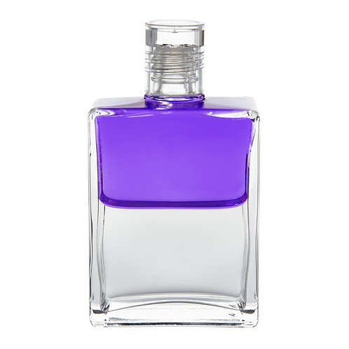 Bottle #48 Wings of Change - Violet/Clear