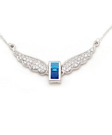 925Silver Archangel Israfel Wings Pendant MFN0005-112