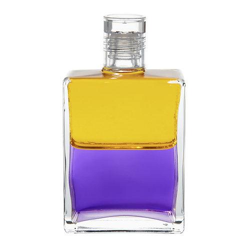 Bottle #18 The Egyptian Bottle 1, Turning Tide - Yellow/Violet