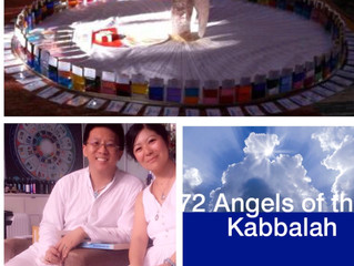 Oct 26-29th-The 72 Angels of the Kabbalah and Aura-Soma®Part1 Special course in Singapore