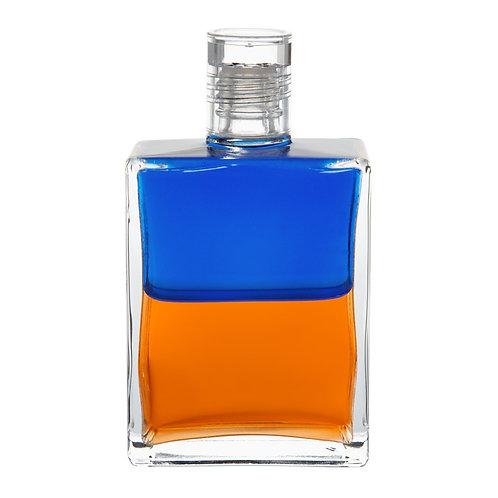 Bottle #72 The Clown, Pagliacci - Blue/Orange