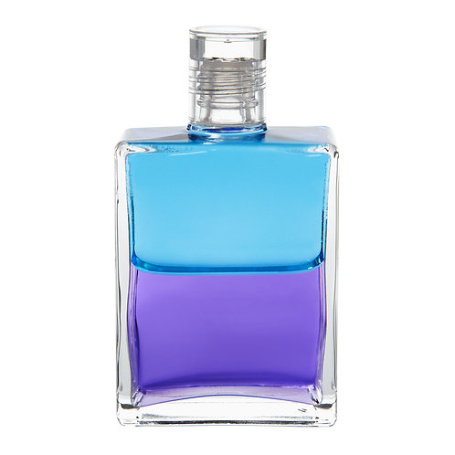 Bottle #49 The New Messenger - Turquoise/Violet
