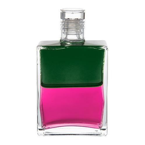 Bottle #46 The Wanderer - Green/Magenta