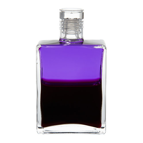 Bottle #78 Crown Rescue, The Transition bottle - Violet/Deep Magenta
