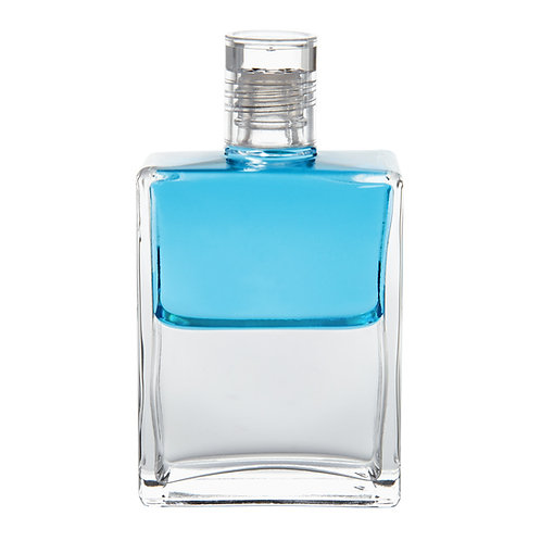Bottle #85 Titania, Queen of the Fairies - Turquoise/Clear
