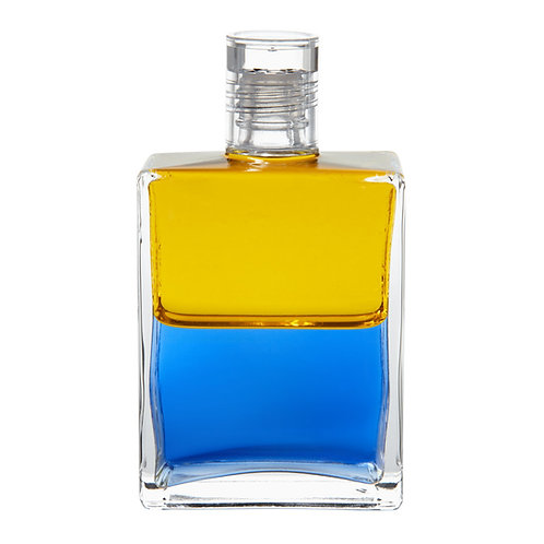 Bottle #08 Anubis - Yellow/Blue
