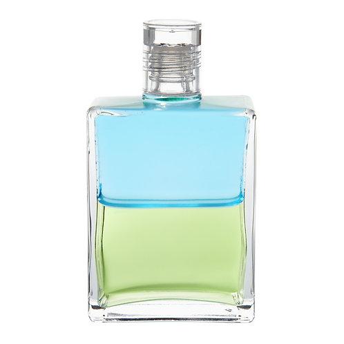 Bottle #101 Archangel Jophiel - Pale Blue/Pale Olive