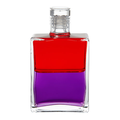 Bottle #19 Living in the Material World - Red/Purple