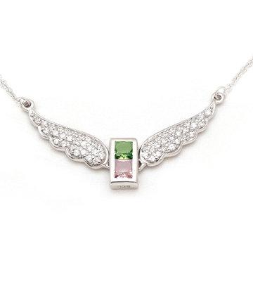 925Silver Archangel Tzadkiel Wings Pendant MFN0005-99
