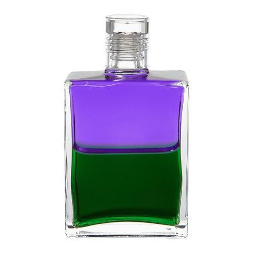 Bottle #38 Troubadour 2, Discernment - Violet/Green