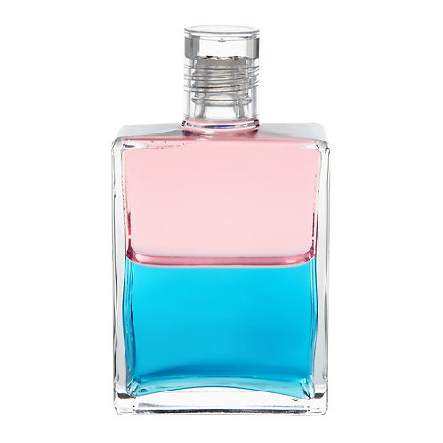 Bottle #34 The Birth of Venus - Pink/Turquoise