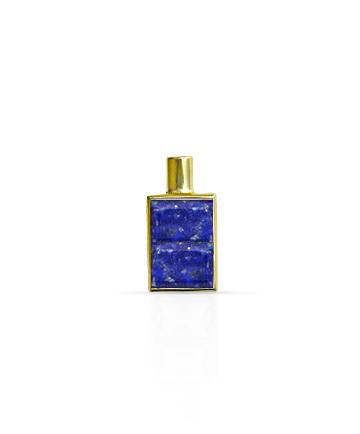 Gold Pendant, Lapis Lazuli MC-96