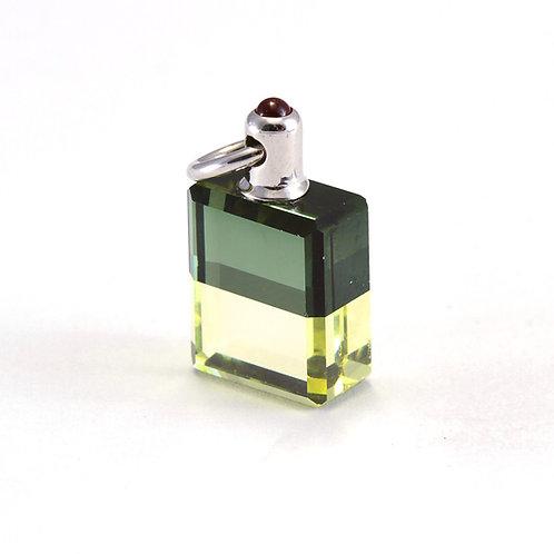 IRIS #63 Djwal Khul & Hilarion - Emerald Green/Pale Green