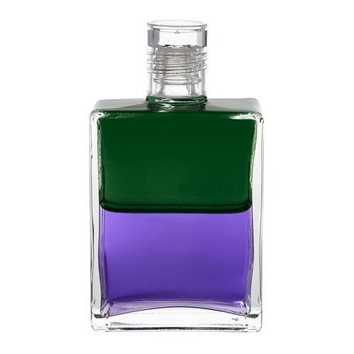 Bottle #17 Troubadour 1, The Hope bottle - Green/Violet