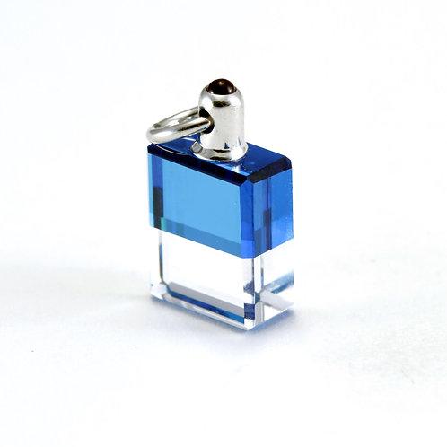 IRIS #60 Lao Tsu & Kwan Yin - Blue/Clear