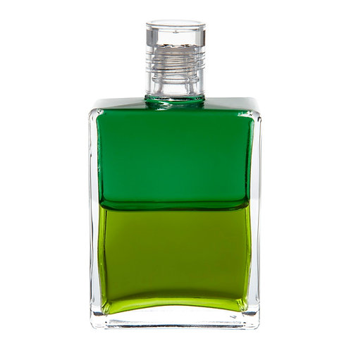 Bottle #113 Archangel Cassiel - Emerald Green/Mid Tone Olive