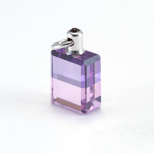 IRIS #98 Archangel Sandalphon, Margaret's Bottle - Lilac/Pale Coral