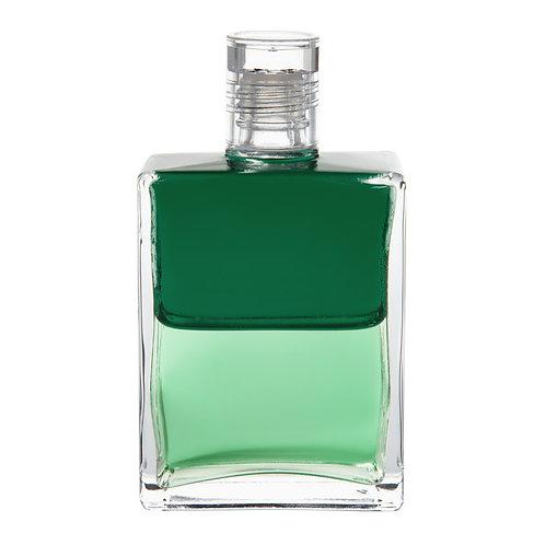 Bottle #63 Djwal Khul & Hilarion - Emerald Green/Pale Green