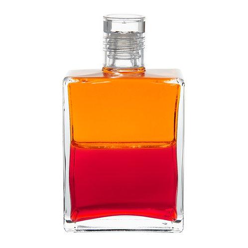 Bottle #115 Archangel Khemiel & Ariel - Orange / Red