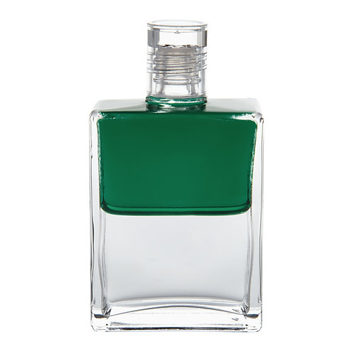 Bottle #64 Djwal Khul - Emerald Green/Clear