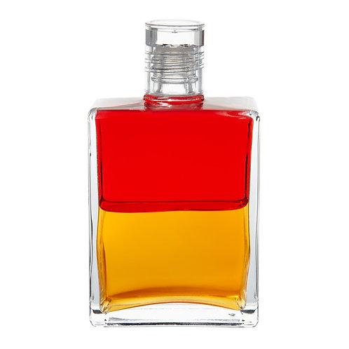 """Bottle #40 The """"I Am"""" bottle - Red/Gold"""