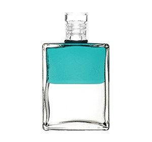 Inner Alchemy Bottle A6 - Kingfisher Blue/Clear