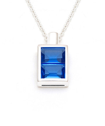 Peace Bottle – Silver Pendant PBL02
