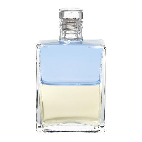 Bottle #94 Archangel Michael - Pale Blue/Pale Yellow