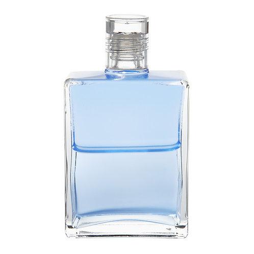 Bottle #50 El Morya - Pale Blue/Pale Blue