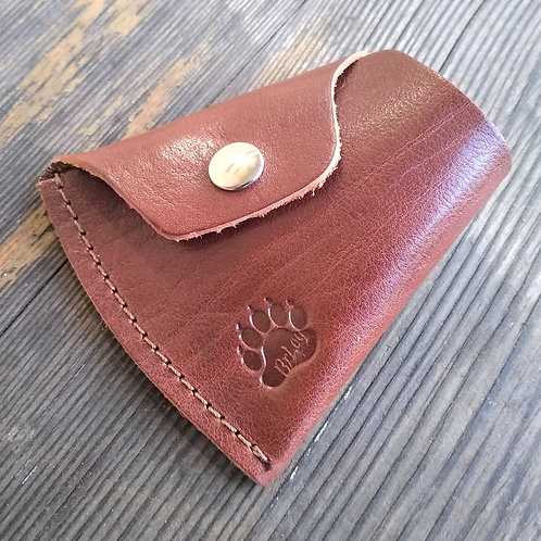 Leather sheath for axe
