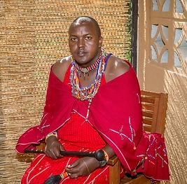 Acacia Moyo Partner and Programs Director Assistant Chief Nickson Parmisa of Kitengela, Kenya
