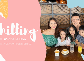 (Q&A + Giveaway!) Chilling with Michelle Hon