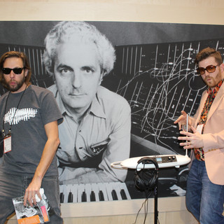 Theremin jam with Paul Beard and Bob.JPG